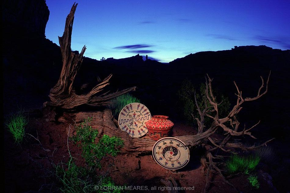 Navajo Baskets, Valley of the Gods, Utah