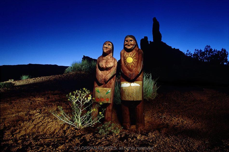Navajo Folk Art, Valley of the Gods, Utah