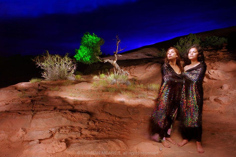 Navajo Sisters, Mystery Valley, Arizona