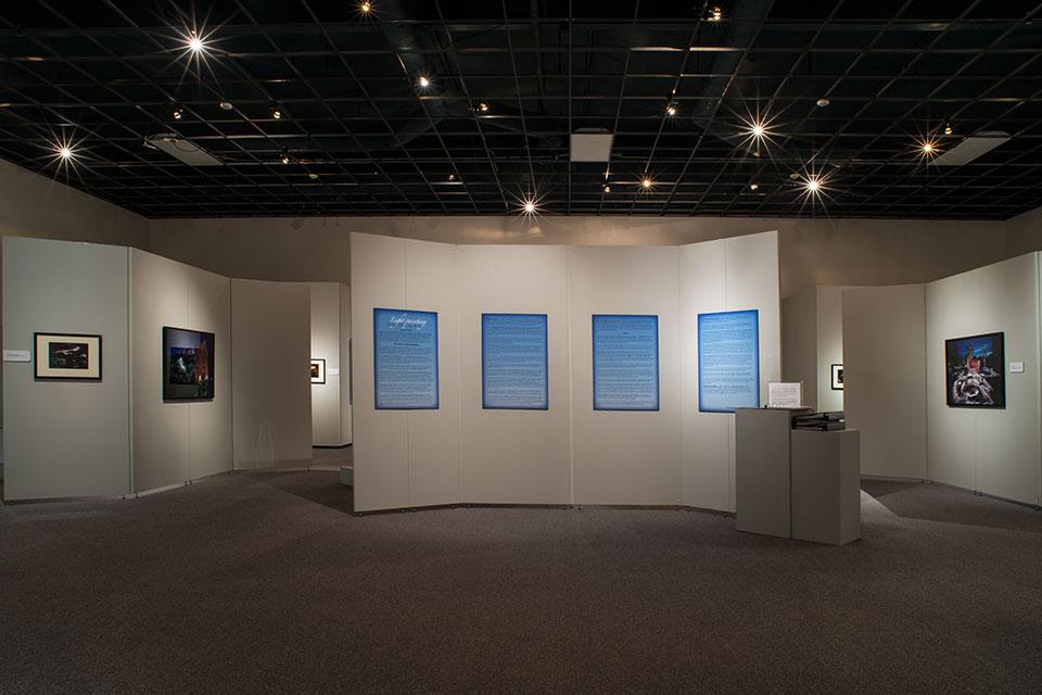 Sacred Places Exhibition Entrance