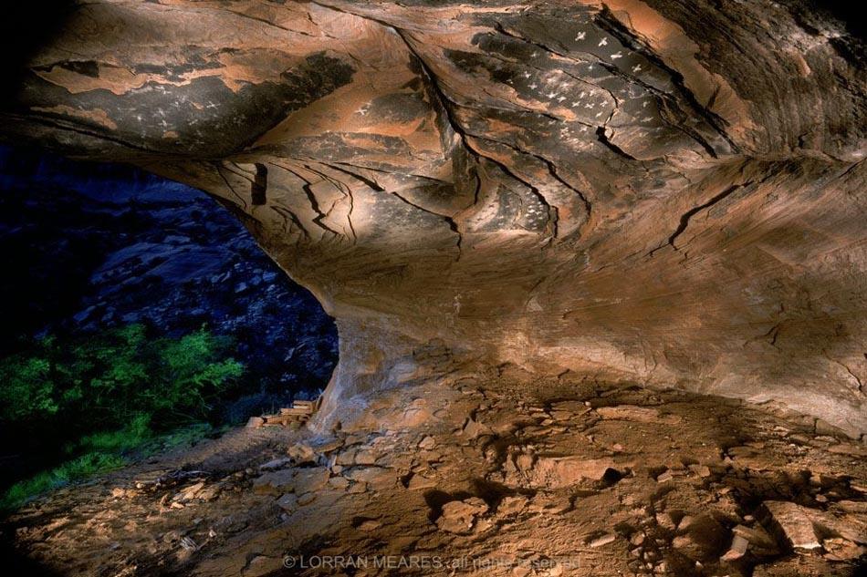 Planetarium Cave, Canyon del Muerto, Arizona