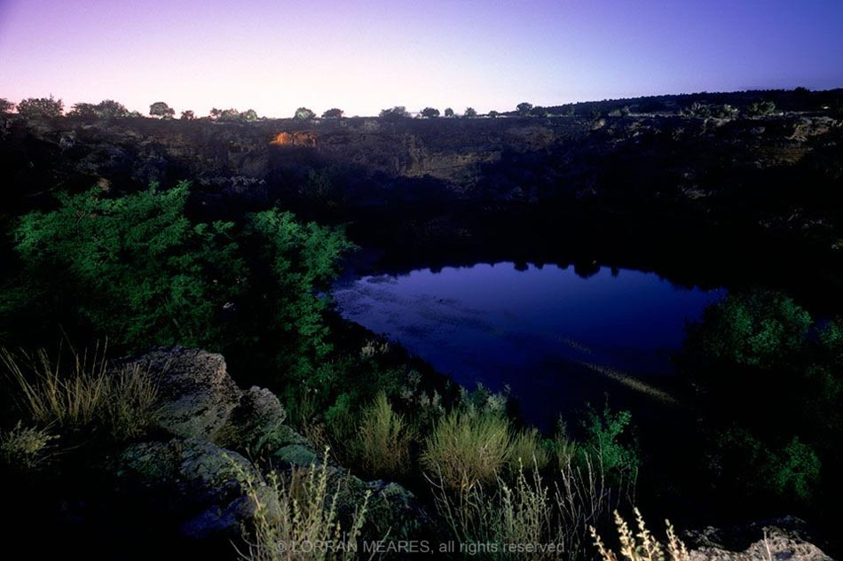 Montezuma Well. Arizona