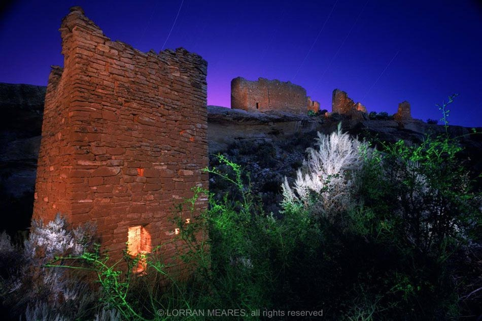 Square Tower Complex. Hovenweep National Monument, Colorado