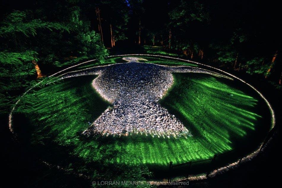 Rock Eagle Effigy Mound, Georgia