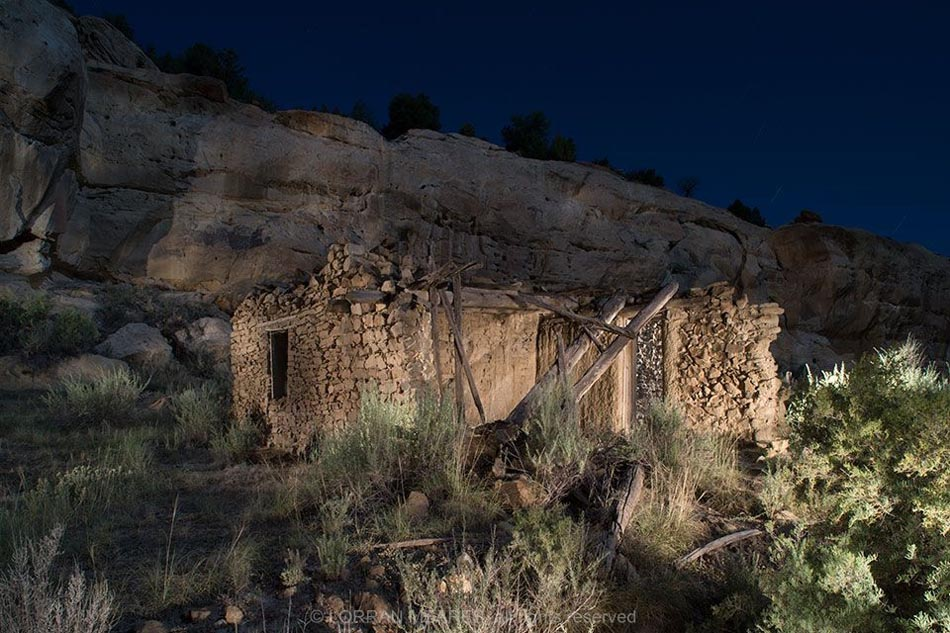 Apodaca Homestead, Largo Canyon, New Mexico