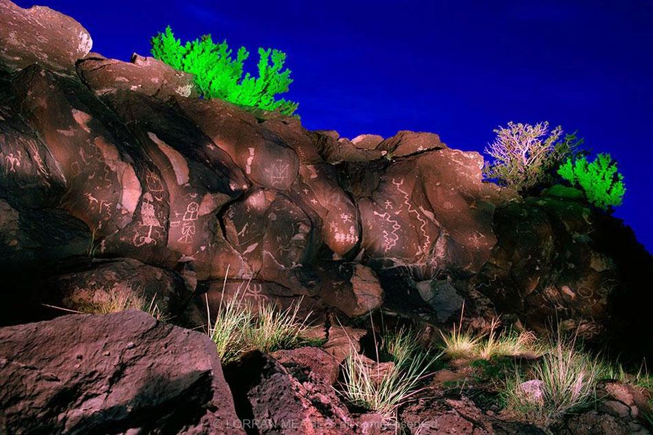 Petroglyphs, La Cieneguilla, New Mexico