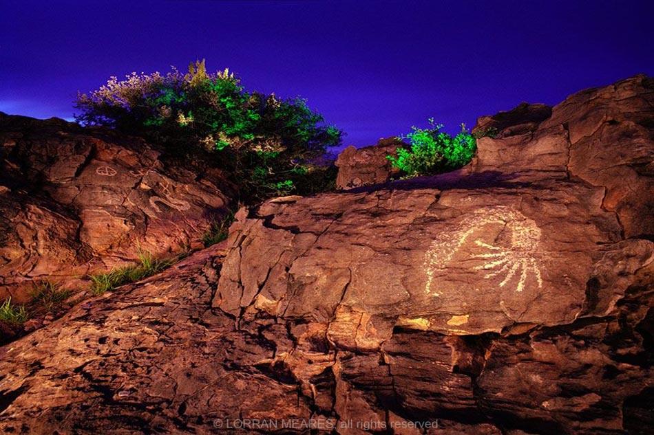 Plumed Serpent Petroglyph, New Mexico