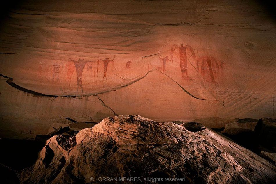 Pictographs, Buckhorn Wash, Utah