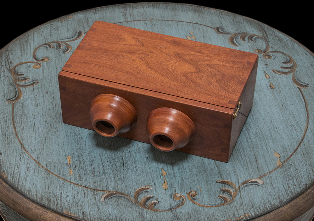 Cherrywood Stereo Viewer