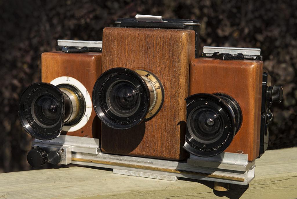 Hand Built Stereo Camera